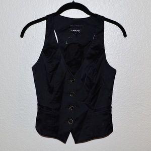 NWOT Bebe Black Vest